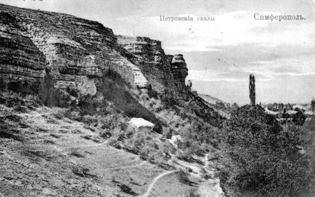 Скалы Петровской балки