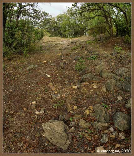 Руины поселения