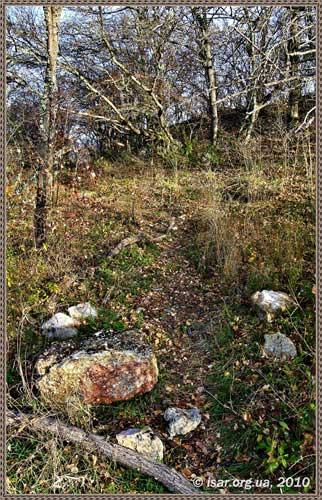 Камни с оборонительной стены