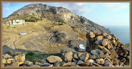 Гора Караул - Оба