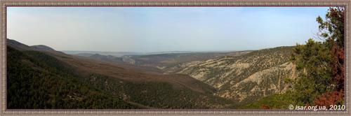 Каньон реки Черная