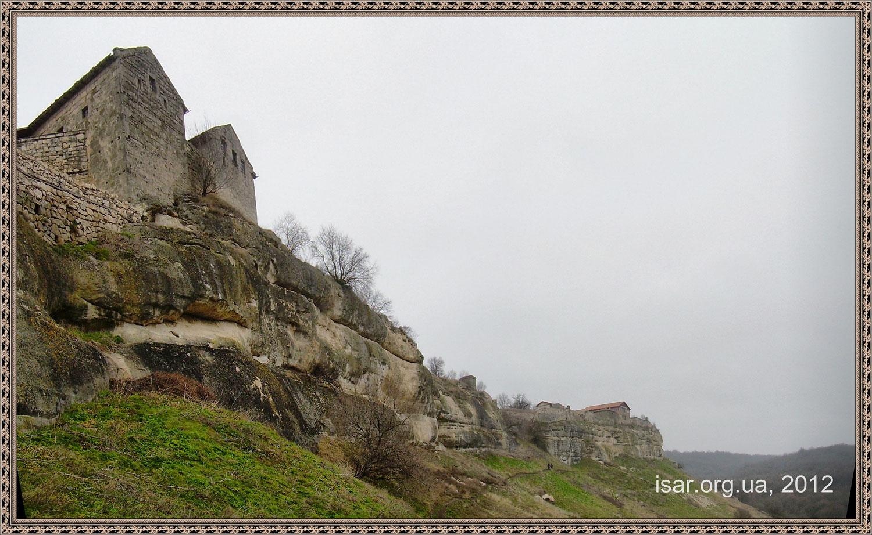 Инкерман Пещерный Город
